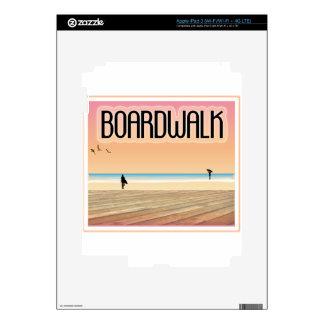 Boardwalk iPad 3 Decal