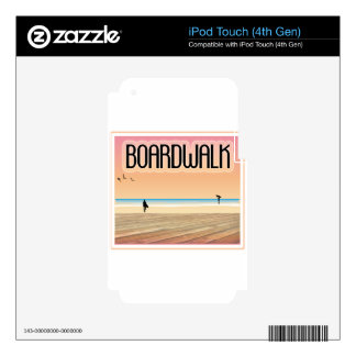 Boardwalk iPod Touch 4G Skins
