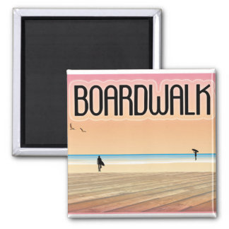 Boardwalk Magnet
