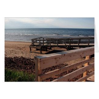 Boardwalk, Prince Edward Island Greeting Cards