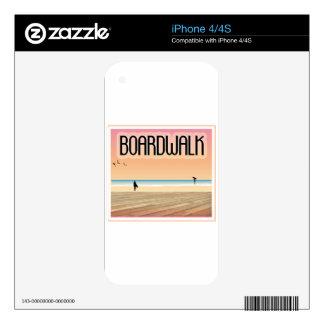 Boardwalk Skin For iPhone 4