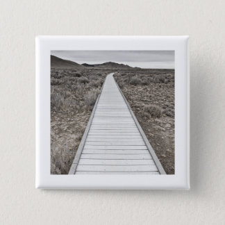 Boardwalk through the desert button