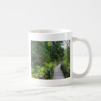 Boardwalk through Woods Coffee Mug