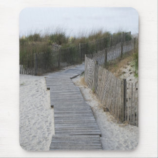 Boardwalk to Beach Mouse Pad