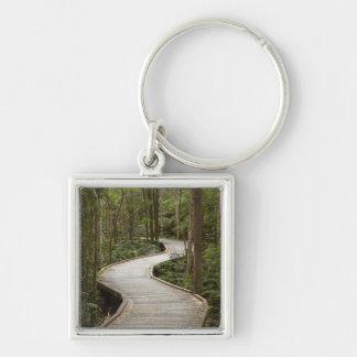 Boardwalk to Nelson Falls, Franklin - Gordon Keychain