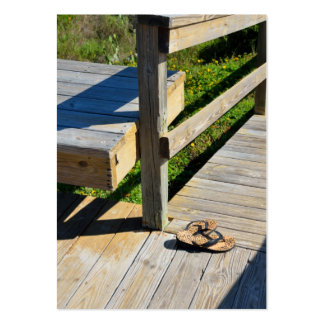 Boardwalk to the Beach Business Card Templates