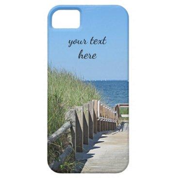 Beach Themed Boardwalk to the beach iPhone SE/5/5s case