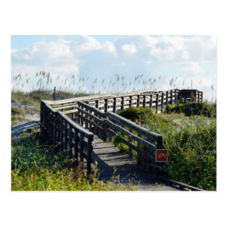 Boardwalk to the beach postcards