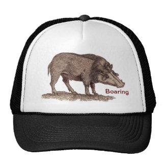 BOARING BASEBALL CAP TRUCKER HAT