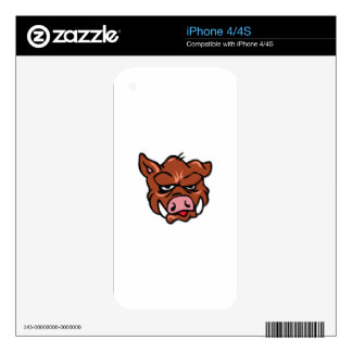 BOARS HEAD DECAL FOR THE iPhone 4S