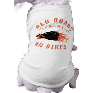 Boars on Bikes Dog T Shirt
