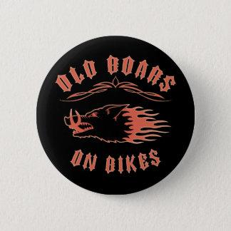 Boars on Bikes Pinback Button