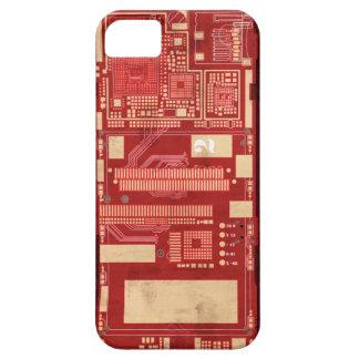 Boart rojo del circuito del PWB iPhone 5 Carcasa