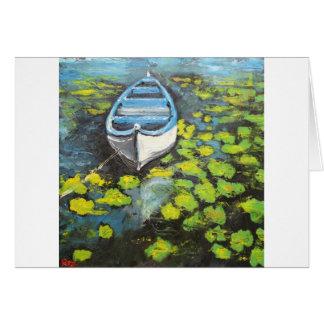 Boat#13 Tarjeta De Felicitación