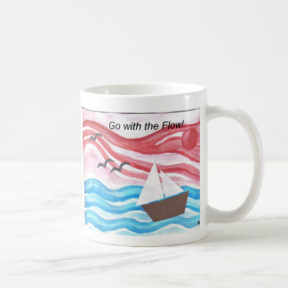 boat 1go with the flow coffee mug