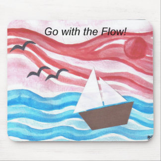 boat 1go with the flow mouse pad