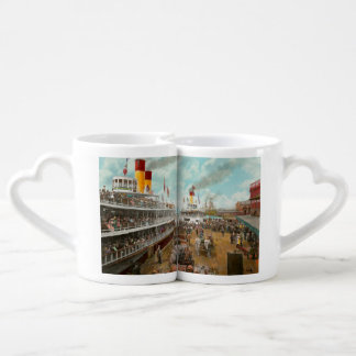 Boat - A vacation to remember - 1901 Coffee Mug Set