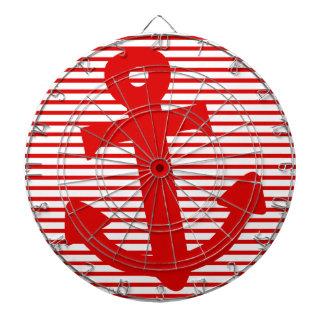 Boat Anchor Dartboard With Darts