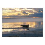 Boat and Heron 5x7 Paper Invitation Card