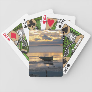 BOAT AND HERON BICYCLE PLAYING CARDS