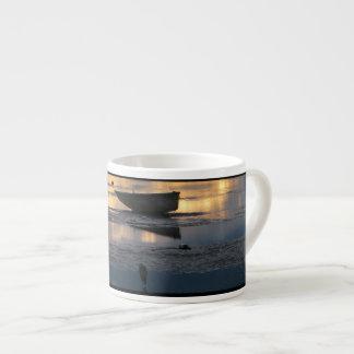 Boat and Heron Espresso Cup