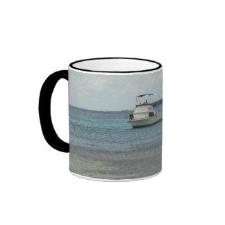 Boat Approaching Ringer Mug