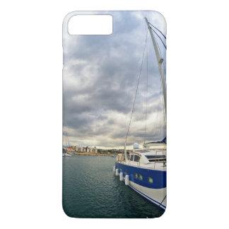 Boat At Ocean iPhone 7 Plus Case
