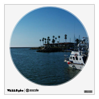 Boat at Oceanside CA Wall Decal