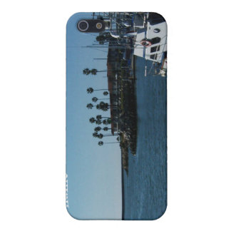 Boat at Oceanside (customize) Cover For iPhone SE/5/5s