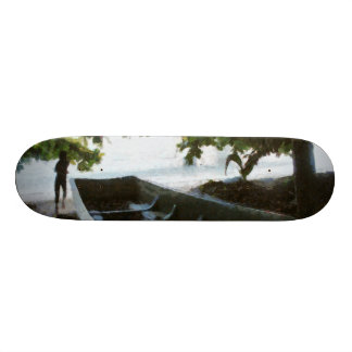 Boat at rest custom skateboard