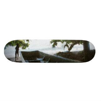 Boat at rest skateboard deck