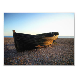 Boat at Sundown Photographic Print