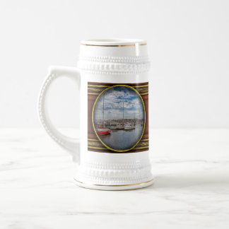 Boat - Baltimore, MD - One fine day in Baltimore Beer Stein