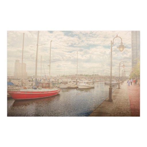 Boat - Baltimore, MD - One fine day in Baltimore Stationery