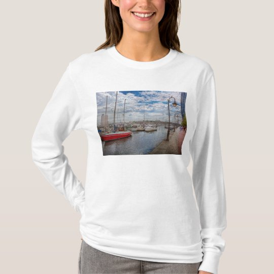 Boat - Baltimore, MD - One fine day in Baltimore T-Shirt