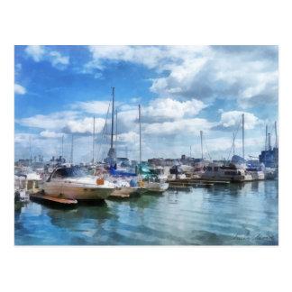 Boat Basin Fells Point Postcard