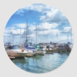 Boat Basin Fells Point Sticker