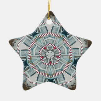 Boat Bits June 2013 Double-Sided Star Ceramic Christmas Ornament