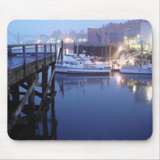 Boat Blue Mouse Pad