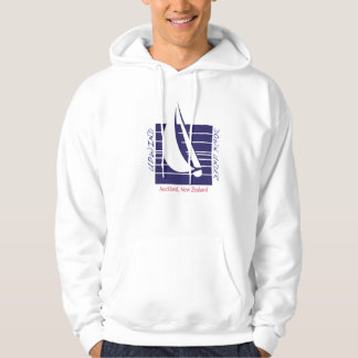 Boat Blue Square_UpDown Auckland t-shirt