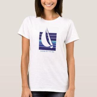 Boat Blues Square_Carmel-by-the-sea t-shirt
