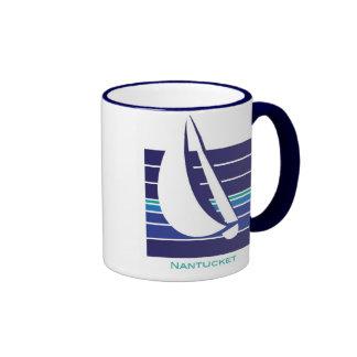 Boat Blues Square_Nantucket mug
