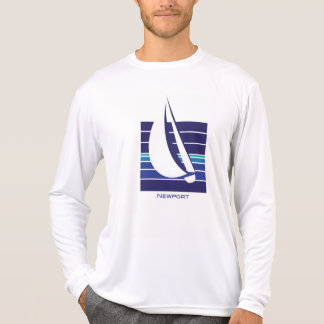 Boat Blues Square_Newport t-shirt