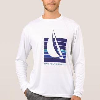 Boat Blues Square_San Francisco, CA Tee Shirt