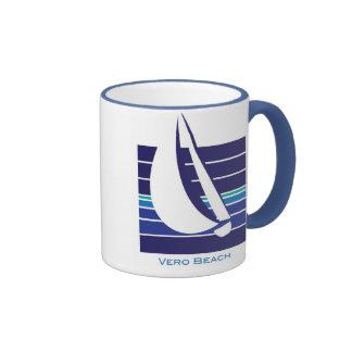 Boat Blues Square_Vero Beach mug