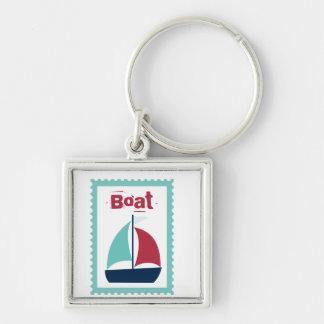 Boat Boating Sailboat Sailing Keychain
