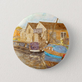 Boat Builders Pinback Button