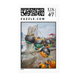 Boat Bumpers Postage Stamp