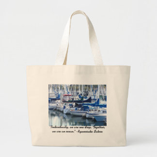 Boat Bums Jumbo Tote Bag
