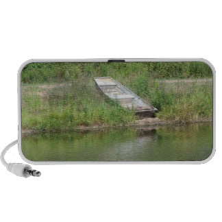 Boat by Lake Doodle Mini Speaker